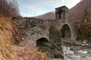 Il famosissimo ponte di Lemie