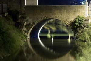 Il Ponte del Castello Estense