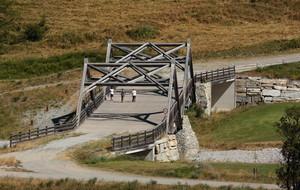 ponte sui campi da golf