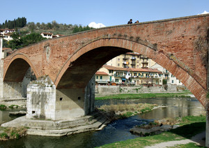 il ponte di mattoni