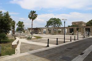 Piazza San Leone Magno in Metaponto Borgo