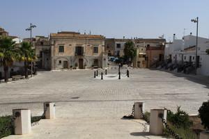 Piazza Castello… dal castello