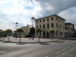 La piazza del Municipio.
