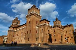 Ferrara Piazza del Castello