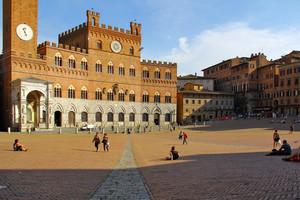 La via per Siena