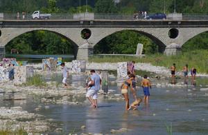 Ponte sul fiume Bidente