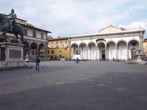 Piazza Indipendenza a Firenze
