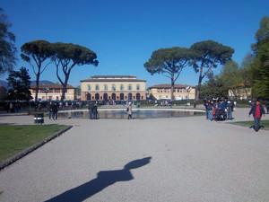 Piazzale Kennedy alle Cascine di Firenze