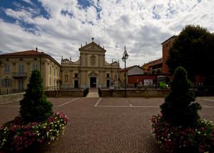 Particolare di Piazza Cavalieri di Vittorio Veneto