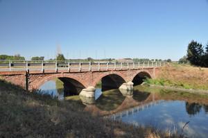 Ponte sul canale di bonifica