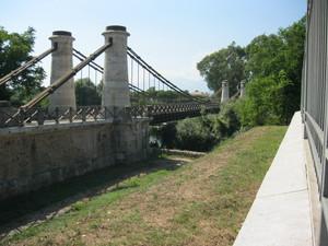 Minturno ponte Borbonico sul Garigliano