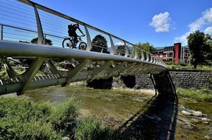 Ponte ciclopedonale sul Sarca