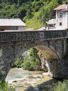 Lesis – il ponte degli alpini