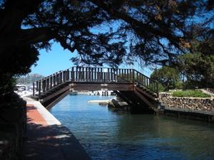 il ponte della vecchia darsena