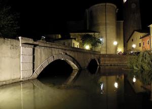 Ponte sul Lémene a Portugruaro