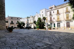 La piazza dei Martiri