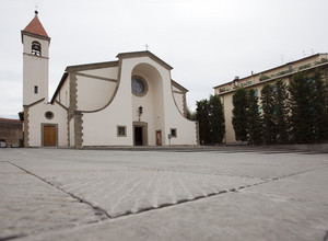 una chiesa bianca…