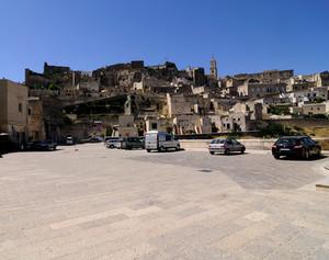 ''Piazza San Pietro'' - Matera