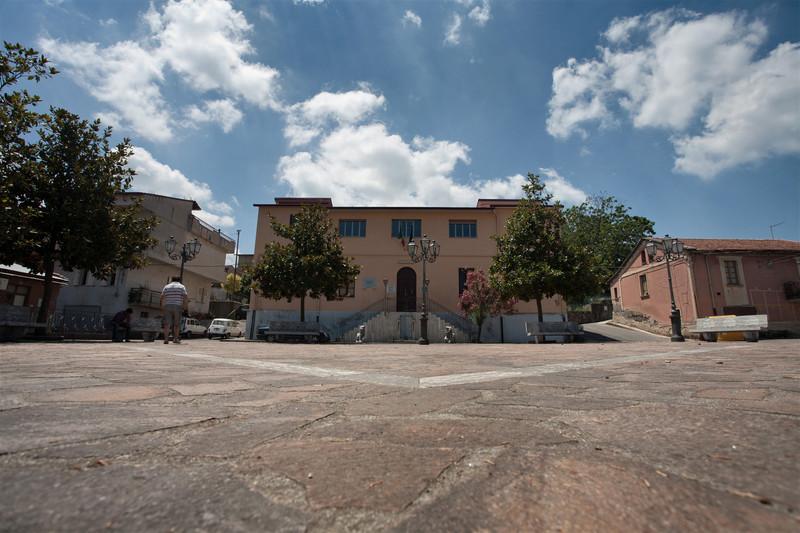 ''La Piazza del  Municipio'' - San Procopio