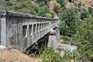 Il ponte sul torrente Schiavo