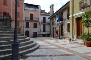 """Nove gradini : nove Cieli, il Paradiso""– Piazza Sant'Angelo – Monteroduni (IS)"