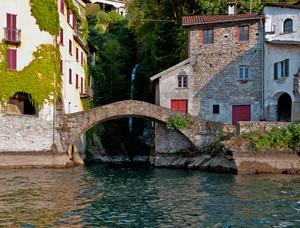 Ponte Civera dal lago di Como