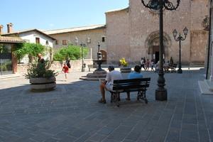 Relax in piazza Garibaldi