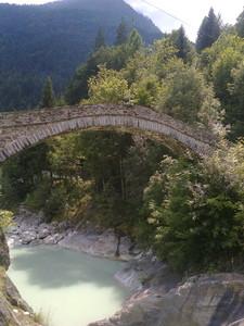 ponte sull'Anza a Vanzone
