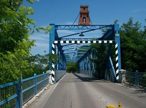 """Il ponte """"blu"""" sul Meduna – Prata di PN"""