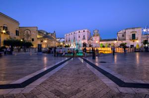 blu time in Matera