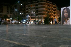 Giganti nella grande piazza