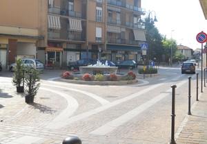 Piazza Garibaldi a Gerno di Lesmo