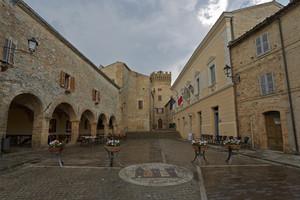 In piazza Castello