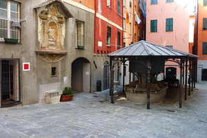 Piazza dei Truogoli di Santa Brigida