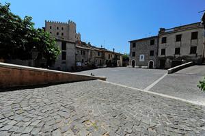 La piazza del Patrono