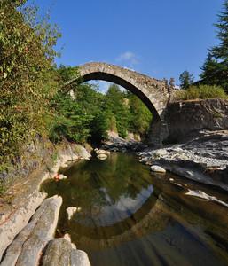Ponte romanico di Santa Filomena