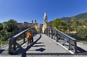 Ponte per il centro di Bressanone
