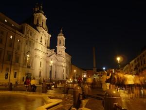 Piazza Navona di sera