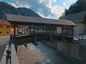 Il ponte ricostruito