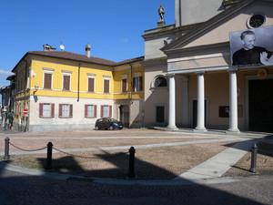 una piazza di san colombano