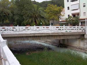 Passerella alle Terme Luigiane