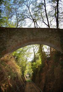 ponte sulla funicolare