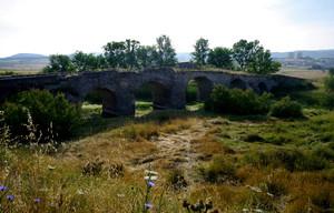 Ponte romano in esaurimento