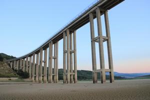 Viadotto sul Fiume Biferno in Secca