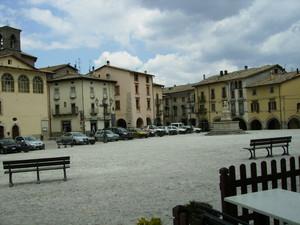 Leonessa, la piazza