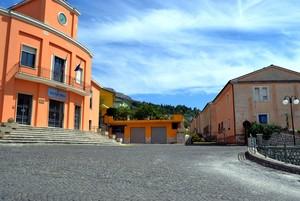 """ Sanctus Petrus in Flia "" – Piazza Risorgimento – San Pietro Infine ( CE )"