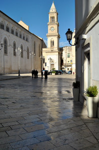 Scorcio di piazza Duomo