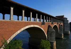 uno scorcio del Ponte Coperto