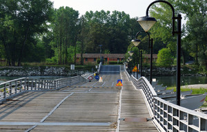 il ponte galleggiante