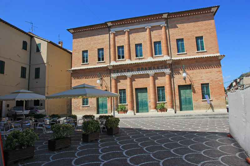''Piazza San Cristoforo'' - Urbania